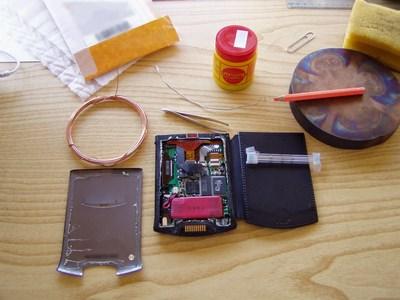 Strumenti usati per saldare e dissaldare il chip