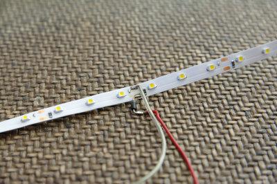 Preparazione striscia LED